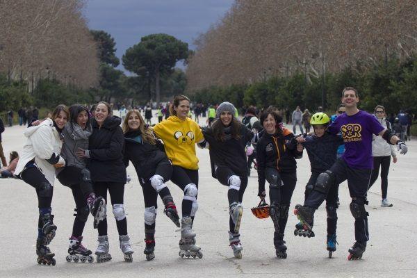 Clases de patines de Línea