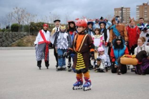 Ruta de Carnaval en patines