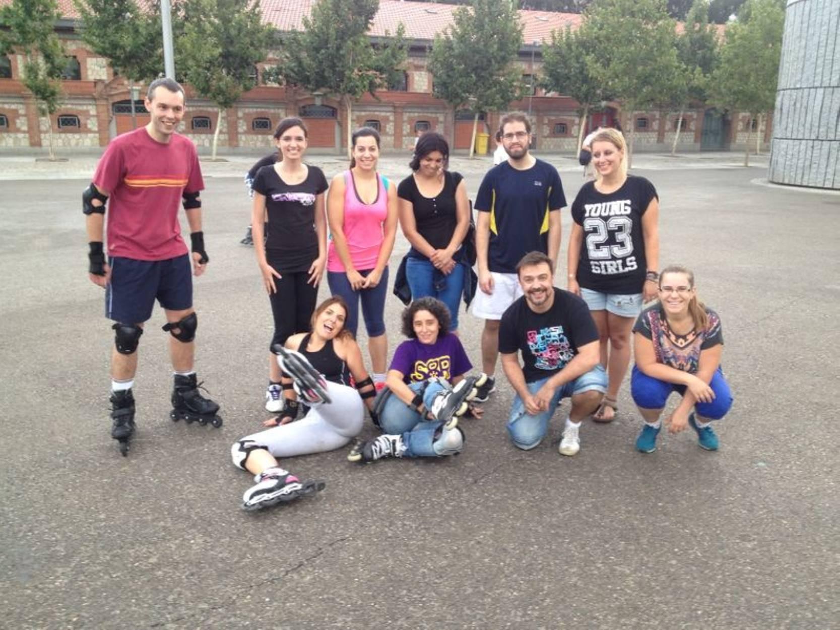 clases de patinaje Madrid Rio