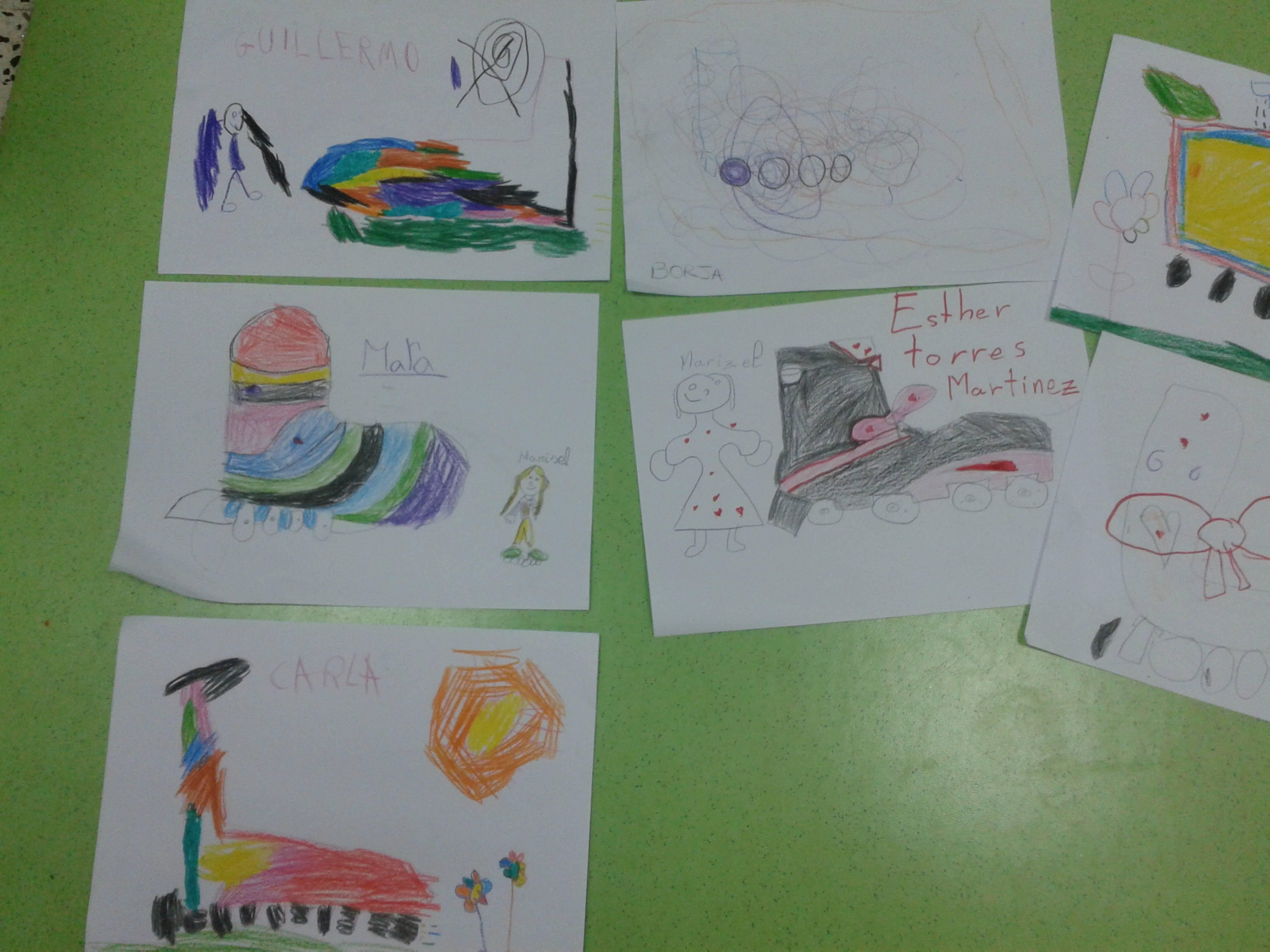 Dibujos de nuestros alumnos del colegio Sagrado Corazón