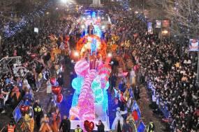 Patinaje Sobre8Ruedas en la Cabalgata de Reyes