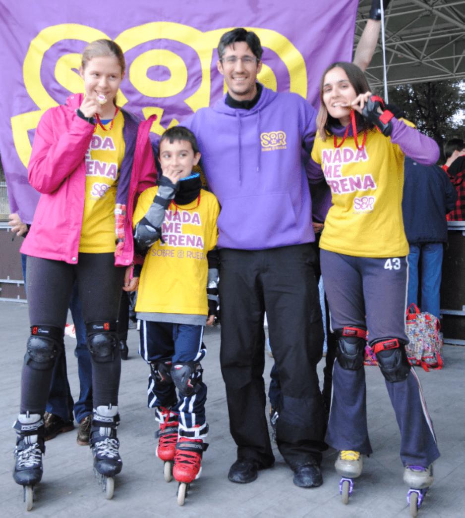 Pruebas de nivel de freestyle slalom de la Federación Madrileña de Patinaje