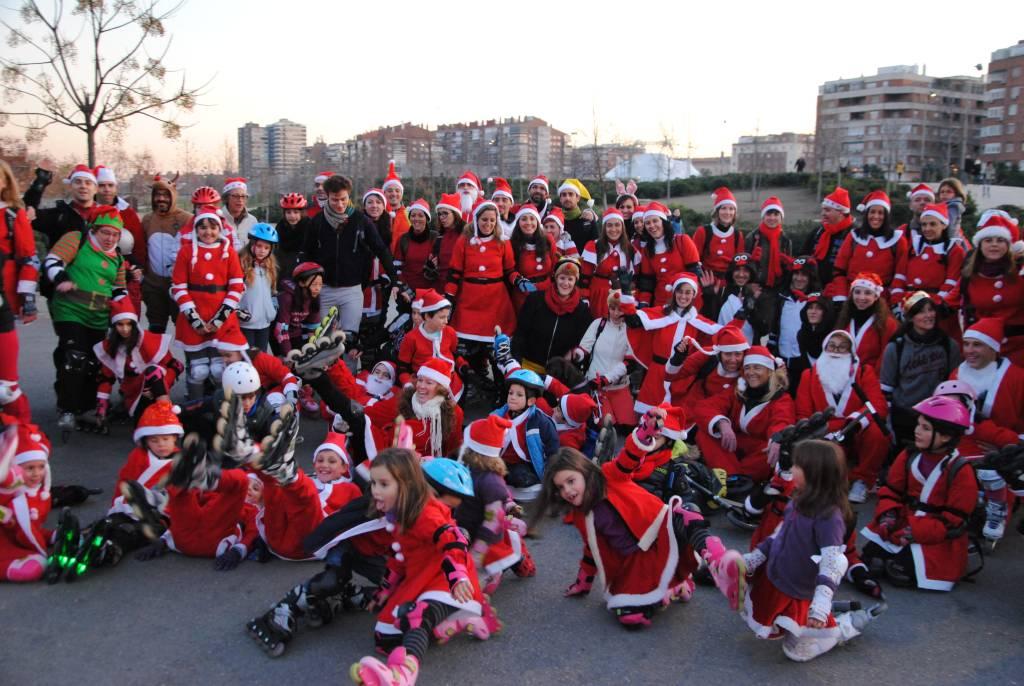 Ruta de Navidad en patines