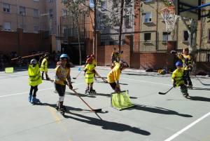 Patinaje y Hockey en el colegio Sagrado Corazón de Madrid