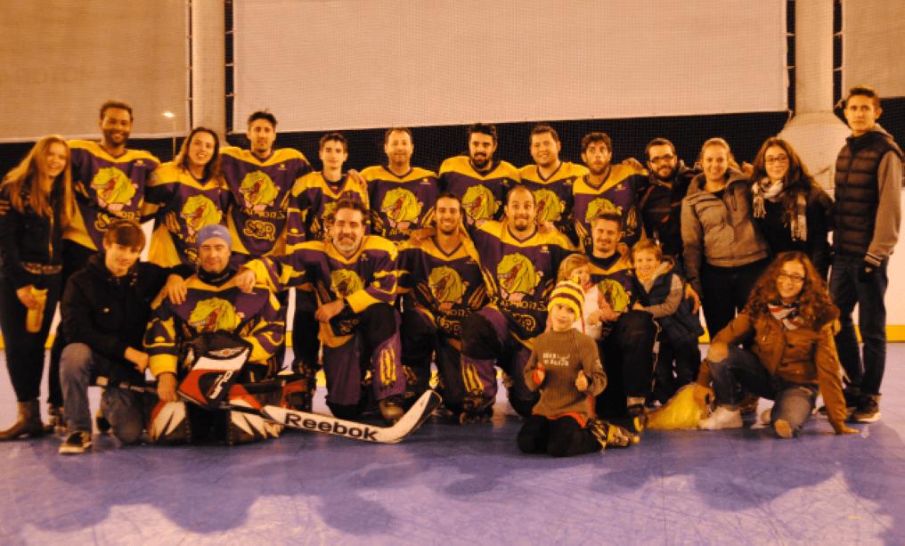 Hockey linea: los Raptors S8R ganan en Las Rozas