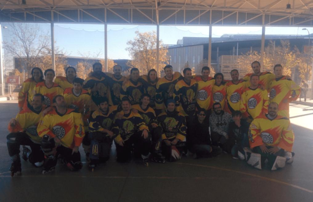 Los Raptors ganan su tercer partido en la Liga Autonomica de Hockey Línea