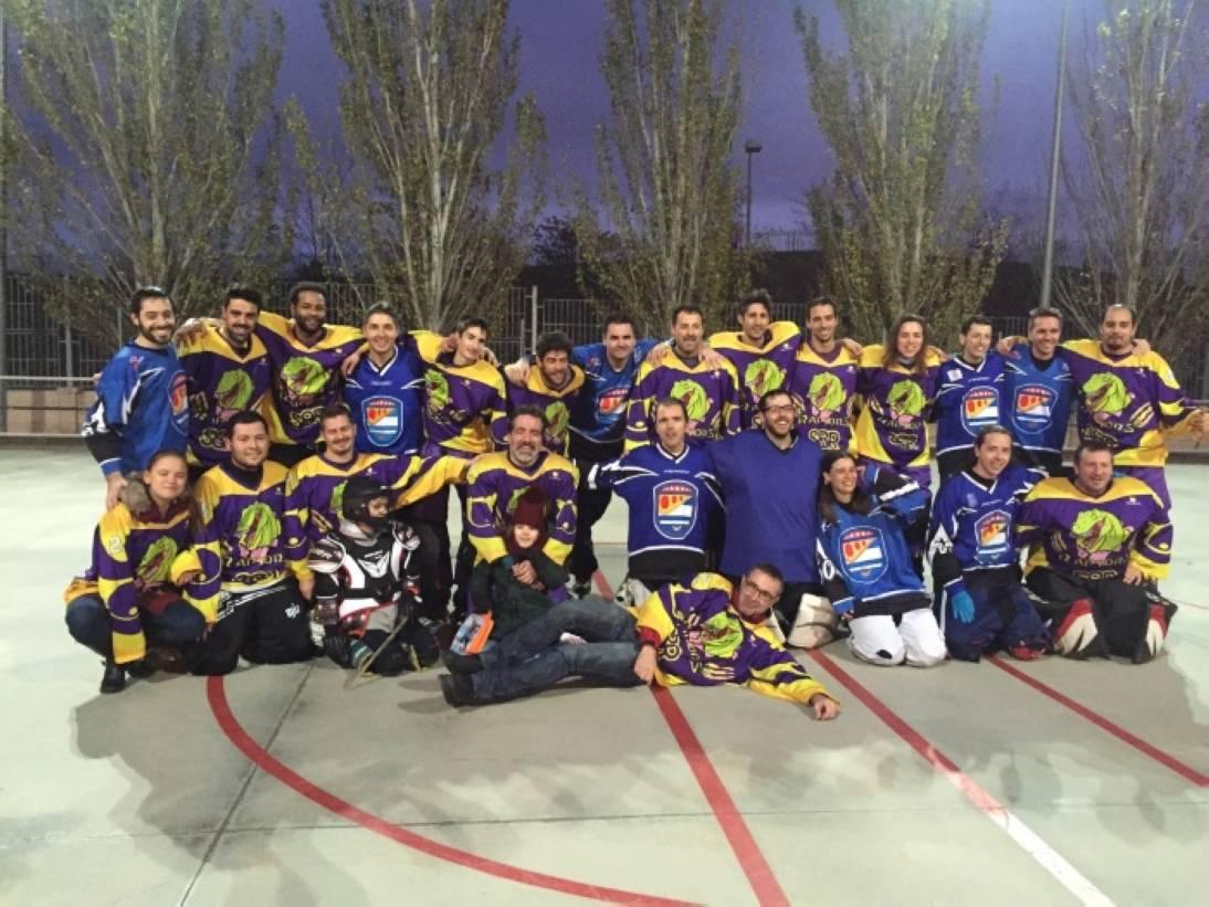 Dos partidos de hockey linea en un finde