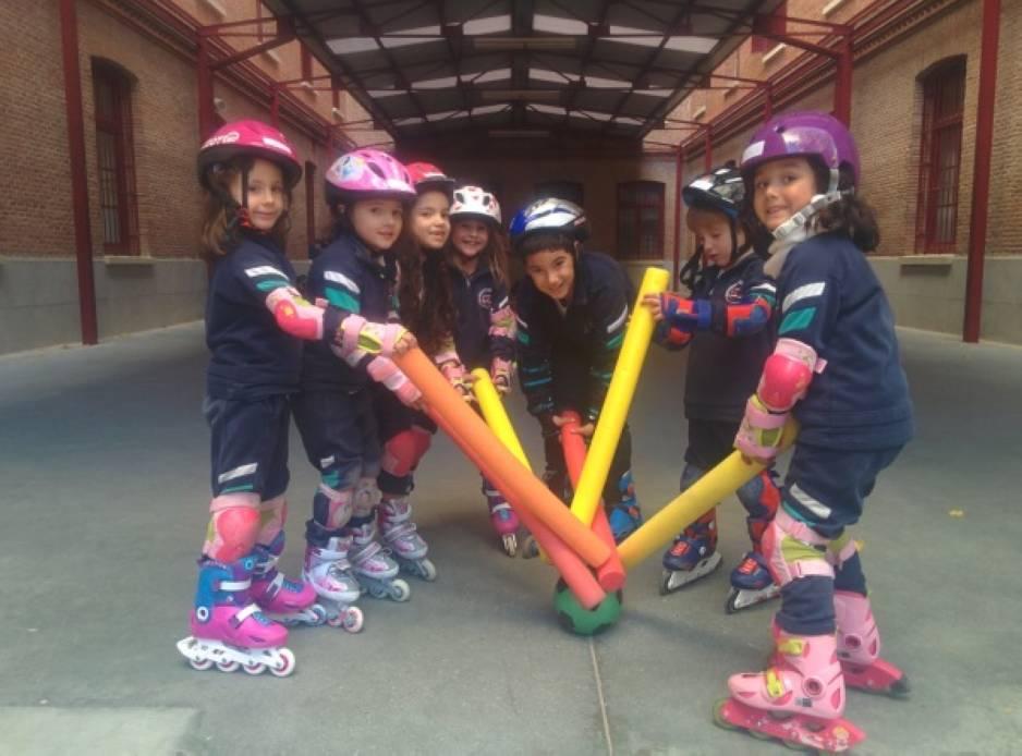 Clases de patinaje de niños en Nuevos Ministerios