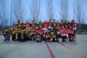 Hockey Línea: buen partido de los Raptors S8R con Tres Cantos