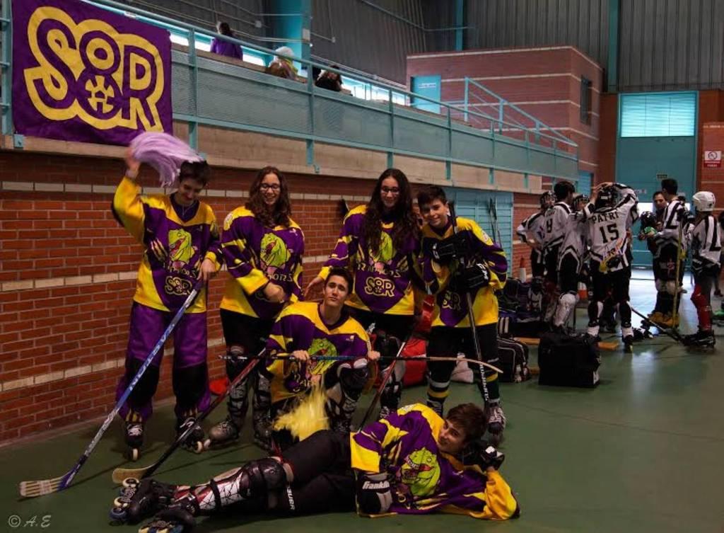 Hockey Línea: Raptors Junior