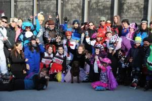 Fotos de la ruta de Carnaval en patines