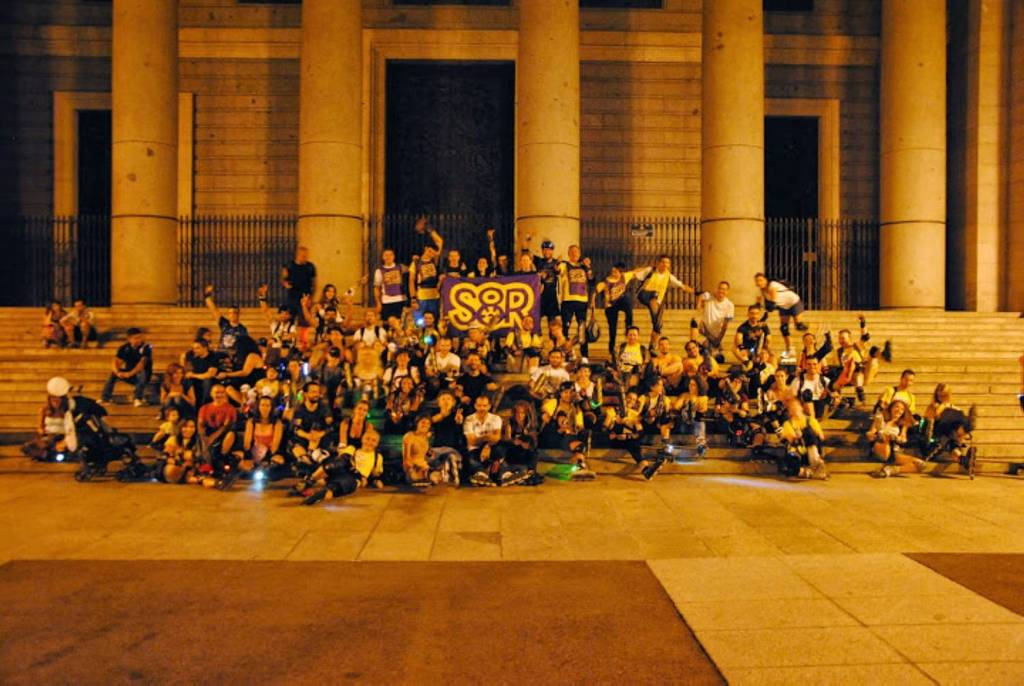 Ruta nocturna en Madrid
