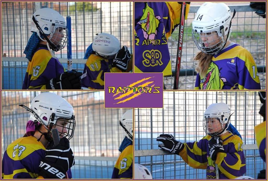 Nuestras chicas de Hockey Línea