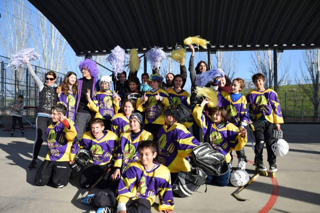 Los mini-Raptors en la ruta de Carnaval