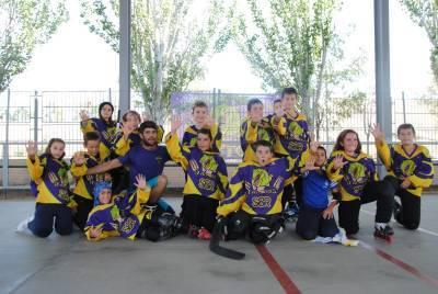 Hockey Línea: Victoria en los penaltis de los Benjamines
