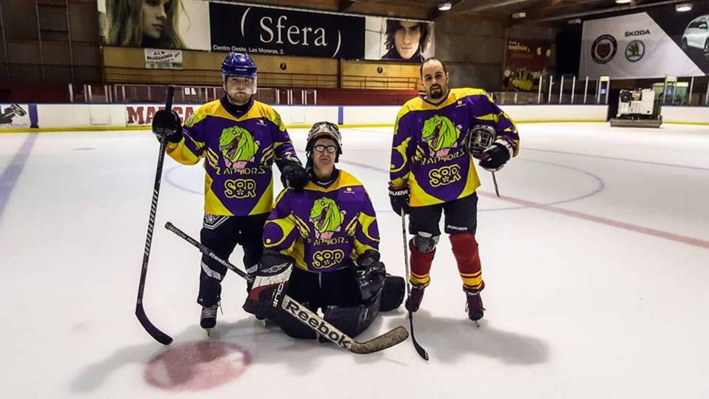 Los Raptors en hockey hielo