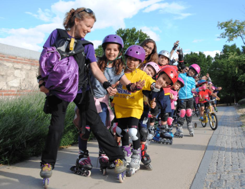 Extraescolares patinaje: ya hemos empezado