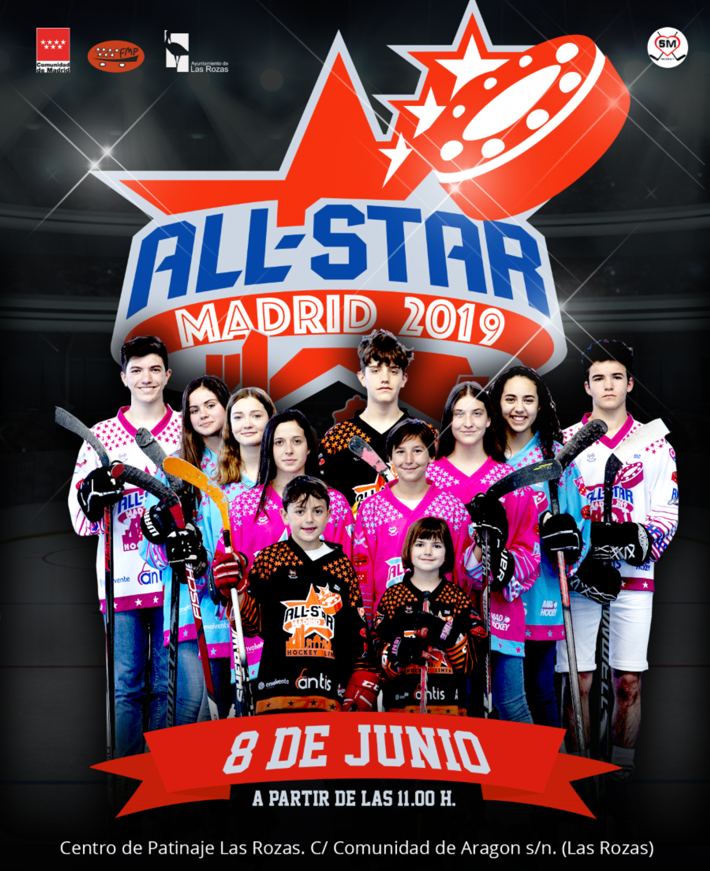 All-stars Hockey Línea Madrid