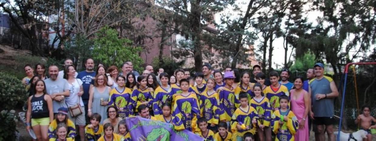 Hockey Línea: Fiesta fin de temporada Mini-Raptors