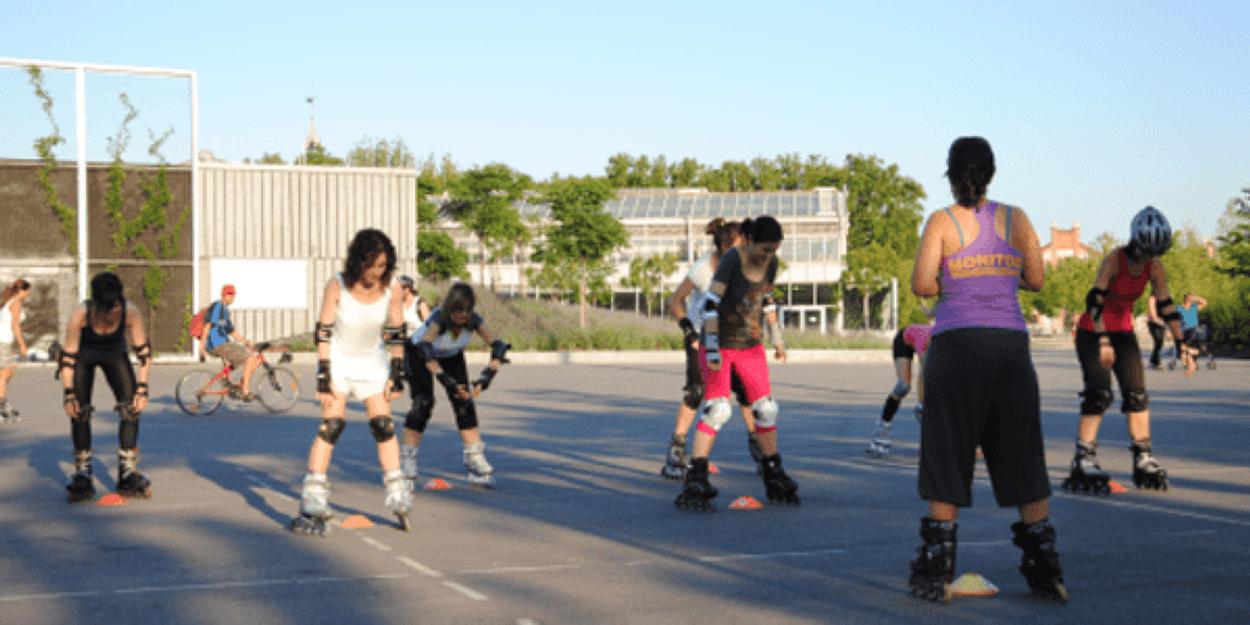 Reanudamos las clases particulares de patinaje