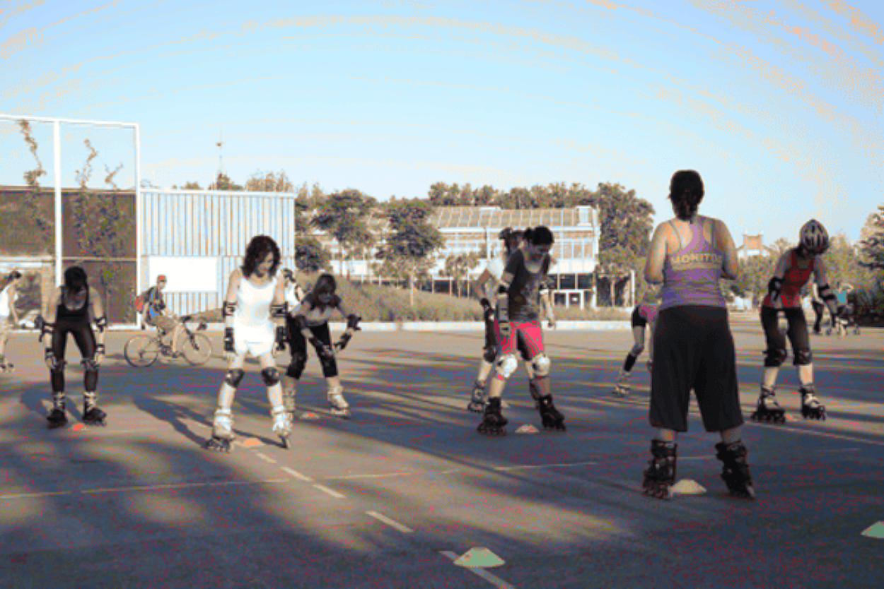 Clases de patinaje: este fin de semana se mantienen las clases