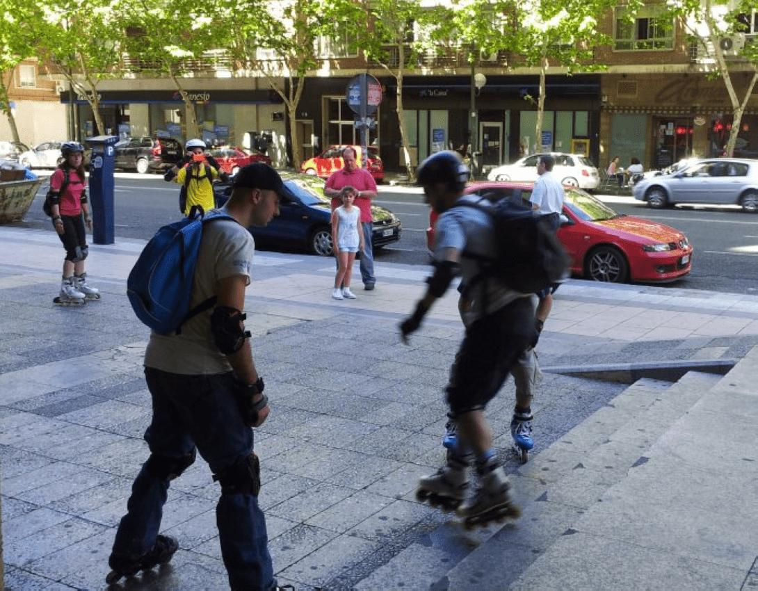 Clases de patinaje Urbano